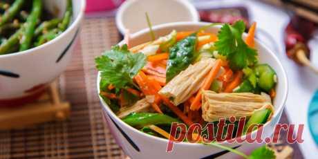 (+2) Китайский салат из соевой спаржи : Салаты : Кулинария : Subscribe.Ru