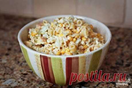 Салат из цветной капусты, огурцов и макарон - пошаговый кулинарный рецепт на Повар.ру