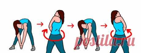 Комплекс из 3-х упражнений для облегчения и устранения болей в спине | Здоровая жизнь | Яндекс Дзен