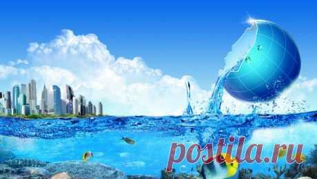 Удивительные факты об обычной воде
