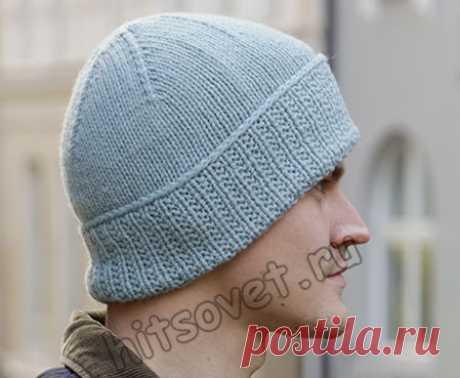 Мужская вязаная шапка Fisher's Friend - Хитсовет