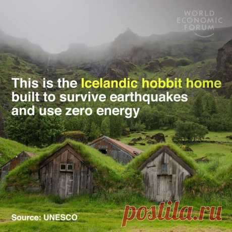 This is the Icelandic hobbit home built to survive earthquakes and use zero energy