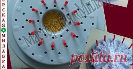 Цветочный лум Цветочный лум, 花あみルーム 使い方, «Hana ami» flower loom, Приспособление для изготовления цветов