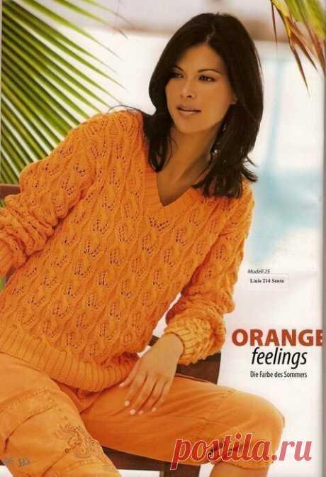 Пуловер. Вязание спицами. 10 моделей. Схемы.   Марусино рукоделие   Яндекс Дзен
