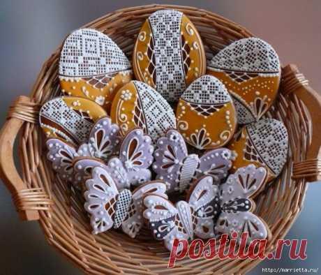 Medovniki. Easter honey gingerbreads. STEP-BY-STEP RECIPE!!!