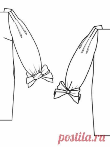 "Silhouette dress \""cylinder\"" - a pattern No. 123 B of the magazine 3\/2014 Burda – a pattern of dresses on Burdastyle.ru"