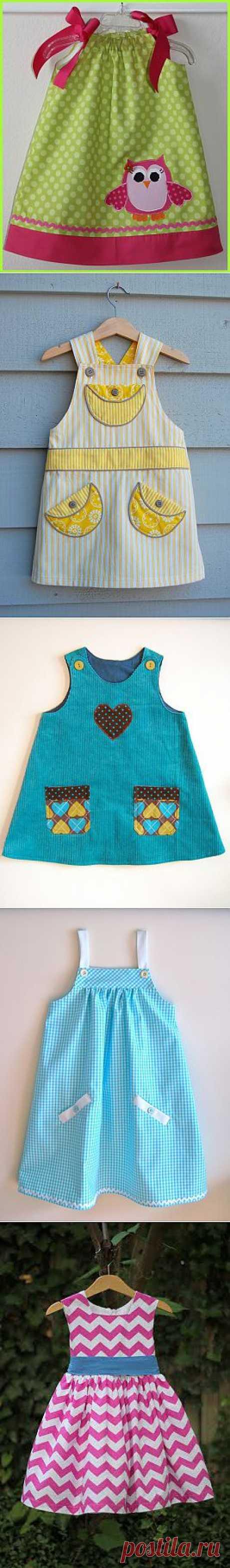 Шьем сами | Записи в рубрике Шьем сами | МИР ЖЕНЩИНЫ платьица для девочек