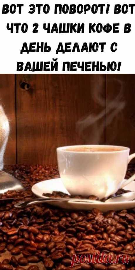 Вот это поворот! Вот что 2 чашки кофе в день делают с вашей печенью! - Полезные советы красоты
