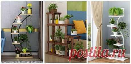 Идеи полок для цветов   Мой дом