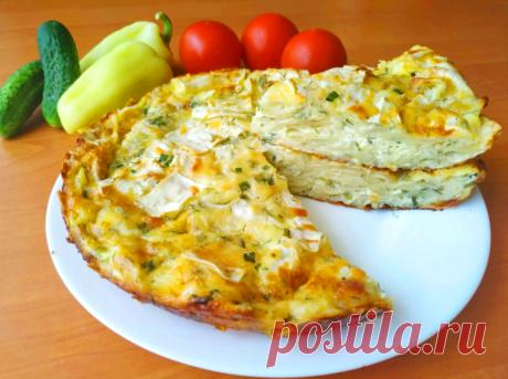 Сырный пирог без возни с тестом - ЖЕНСКИЙ МИР - медиаплатформа МирТесен