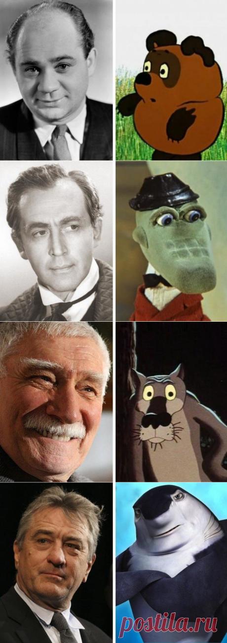 Интересно - 12 мультяшных героев и их прототипы