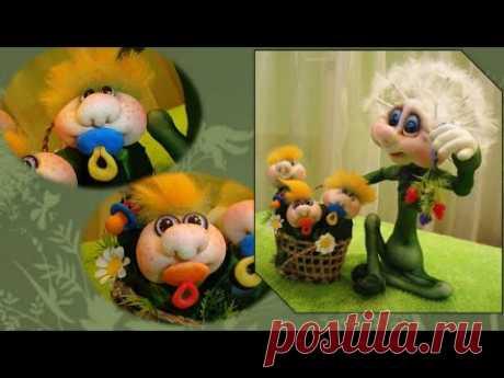 Выступление Елены Лаврентьевой о чулочных куклах