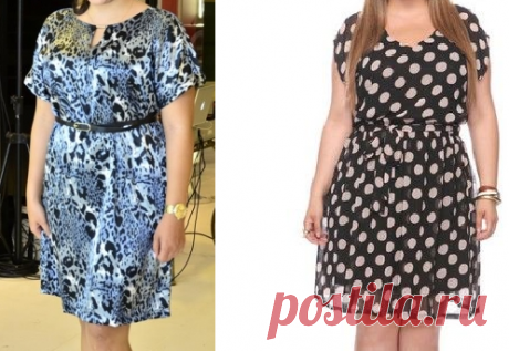 Выкройка платья. БОЛЬШИЕ РАЗМЕРЫ (Шитье и крой) | Журнал Вдохновение Рукодельницы