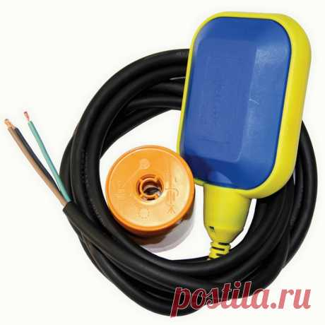 Поплавковый выключатель 3 м, датчик уровня воды для насоса