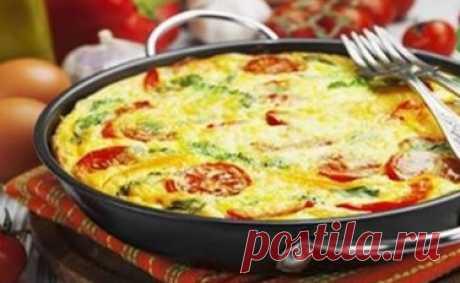 Фриттата — итальянский завтрак! Вкусный завтрак! Омлет получается вкусный, просто нет слов. Ароматы витают на кухне просто сумасшедшие!