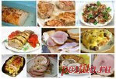 Подборка мясных блюд