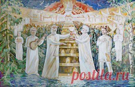 Нужна новая духовность с доминантой добра -> Изба-читальня - литературный портал