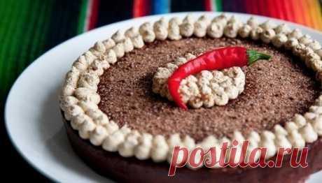 Шоколадный торт с кофейным кремом по-мексикански