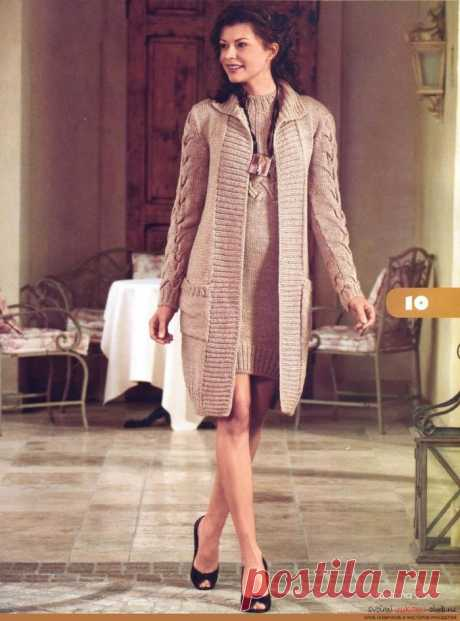 El abrigo por los rayos para las mujeres y las muchachas: el modelo, las cintas, el esquema, la descripción, la foto. ¿Cómo vincular por los rayos el abrigo hermoso, a la moda femenino el raglán, a la capucha, oversayz, chiné, corto, largo por las manos?
