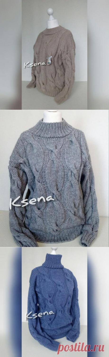 Knit sweater women Aran knit sweater Cable knit pullover Hand | Etsy