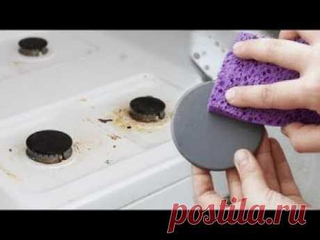 Горелки плиты это одни из тех вещей, которые нужно чистить в любой кухне. На них часто проливается пища, а при высокой температуре нагрева еще и запекается т...