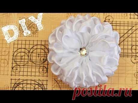 Бант из Ленты Своими Руками (на 1 сентября) / Ribbon Hair Bow Tutorial / ✿ NataliDoma - YouTube
