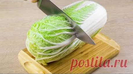 Гениальные САЛАТЫ из пекинской КАПУСТЫ! Простые и вкусные РЕЦЕПТЫ салатов на НОВЫЙ ГОД
