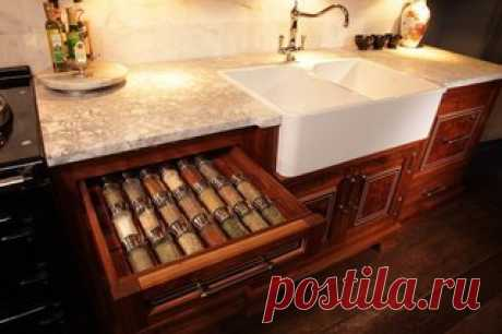 Шикарные идеи для хранения на кухне