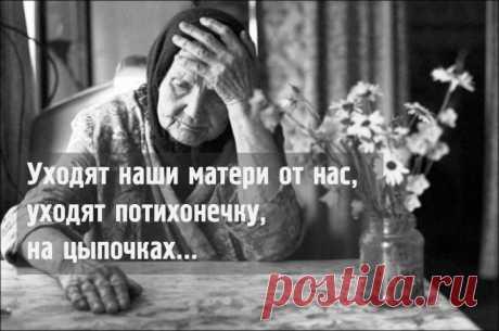 цитата Ольга_Фадейкина : «Уходят матери»: трогательно-правдивое стихотворение Евтушенко о матерях (10:48 13-02-2016) [3517179/384431174] - 89068715336t@gmail.com - Почта Mail.Ru