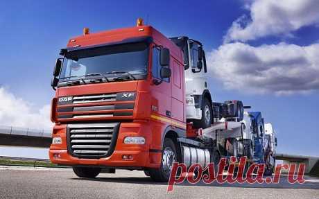 Картинка Truck DAF / Грузовик ДАФ » Грузовики » Автомобили » Картинки 24 - скачать картинки бесплатно
