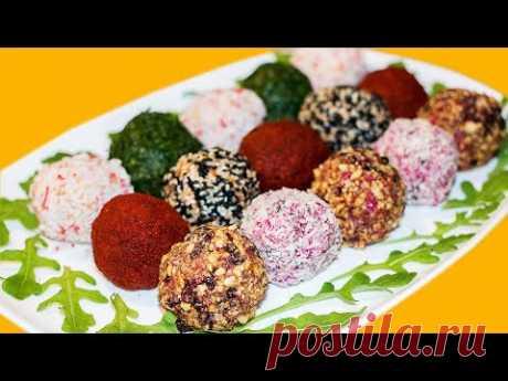3 Рецепта Праздничных Салатов и Праздничное Оформление. Ирина Кукинг - YouTube