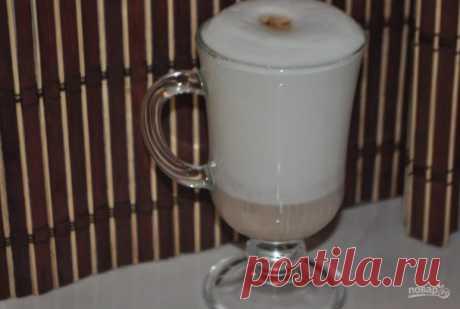 Латте без кофемашины - пошаговый рецепт с фото на Повар.ру