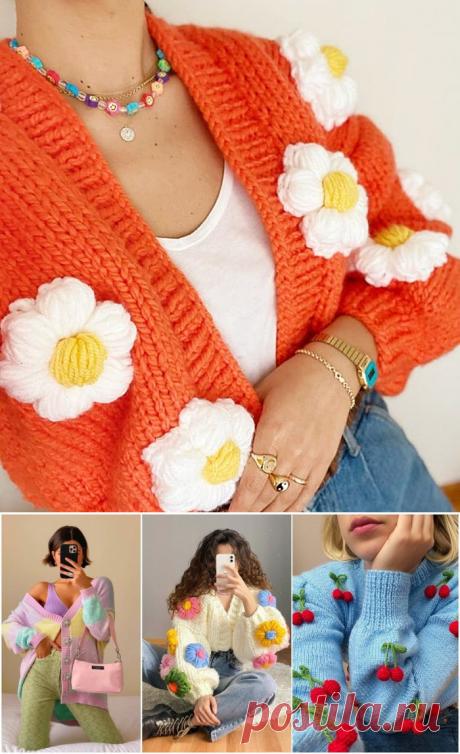 18 красочных трикотажных изделий, которые понравятся даже вашей бабушке — HandMade