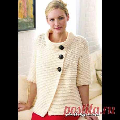 Jacket platochny knitting