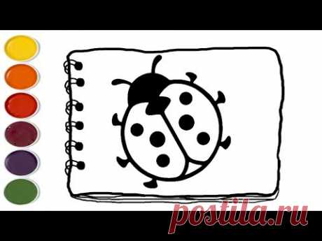 💎Ladybug coloring pages | Coloring Pages For Kids | Kids drawing easy - YouTube