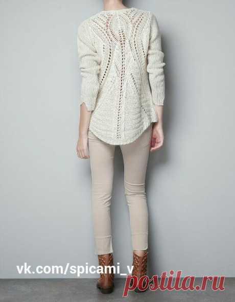 Подборка красивых джемперов и пуловеров со схемами(ч.2)   Волшебный клубочек!   Яндекс Дзен