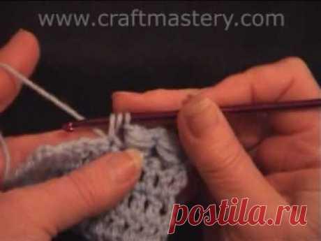 Crochet Stitch - PineApple Stitch