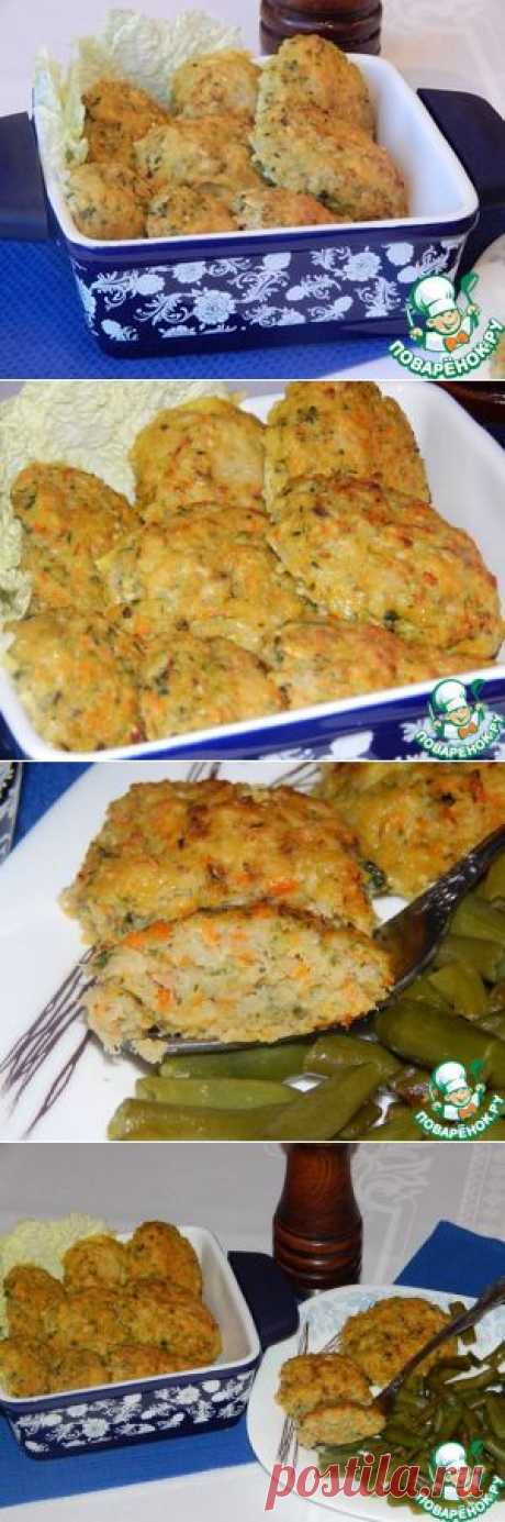 Baked fish cutlets - the culinary recipe