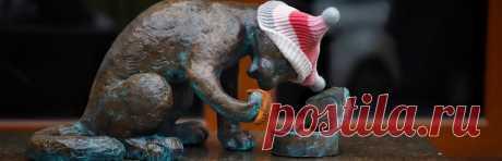 """Одесские коты Одесса — невероятно атмосферный город, в котором живут удивительные креативные люди. Именно здесь, благодаря Татьяне Штыкало и команде """"Доброе дело"""" родился проект """"Маршрут ОДЕССКИЕ КОТЫ""""."""