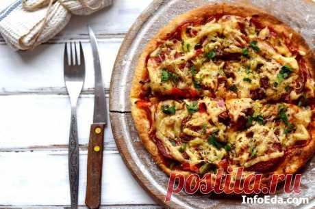 Быстрая пицца из готового теста в духовке: пошаговый рецепт | InfoEda.com