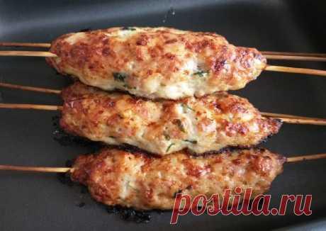 (10) Люля из курицы в духовке - пошаговый рецепт с фото. Автор рецепта Дарья Дюкова 🌳 . - Cookpad