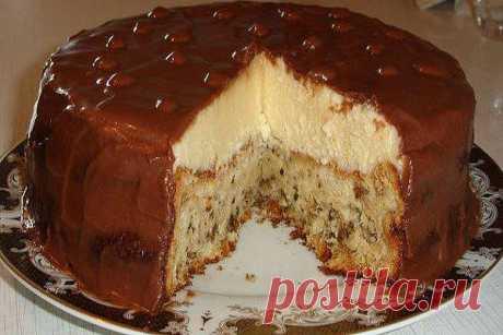 """ТОРТИК """"ЭСКИМО"""" Пеку торт давно хочу и с вами поделиться. Торт получается очень нежным, тающим, вкусным. За праздничным столом его оценят все, даже те, кто не особо любит"""