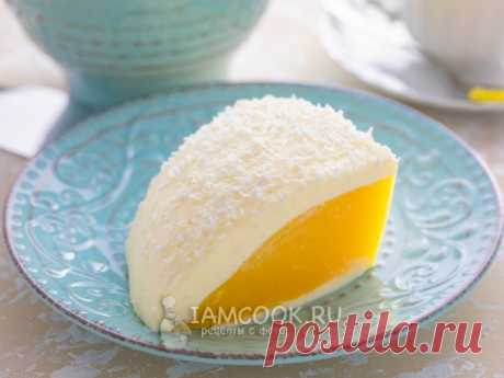 Десерт «Яйцо страуса» — рецепт с фото