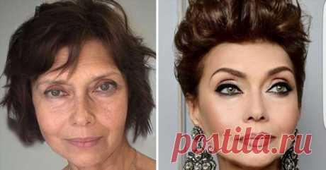 Как правильно красить брови женщинам в возрасте, чтобы не выглядеть странно | Офигенная