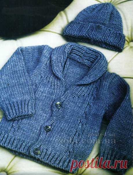 children's jacket and hat spokes