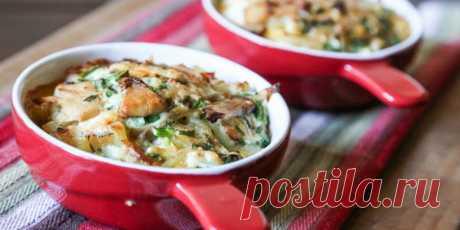 (+1) Фриттата с белыми грибами и картофелем : Овощные блюда : Кулинария : Subscribe.Ru
