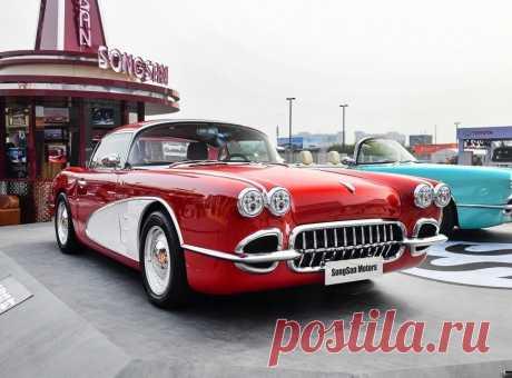 1958 Corvette гибридный китайсякий спорткар 2020 | AUTOSPAWN