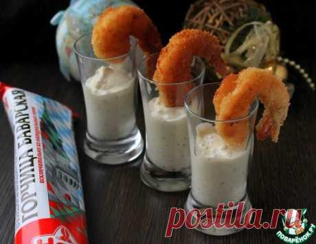 Креветки в панировке с сырным соусом – кулинарный рецепт