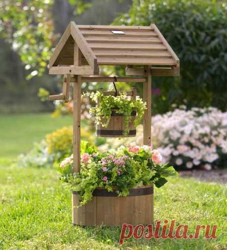 Декор для сада и дачного участка: варианты оформления из металла и дерева