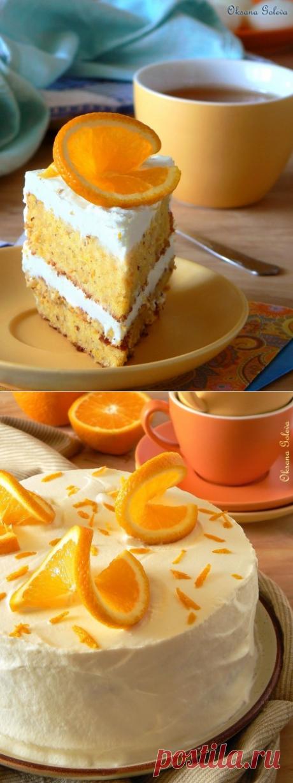 Апельсиновый торт - Совёнкин журнал